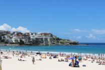 Bondi Beach by Motorcycle
