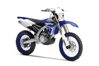 Yamaha WR250F Late Model